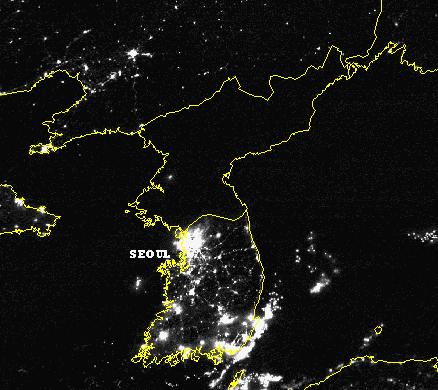Northkorea-at-night